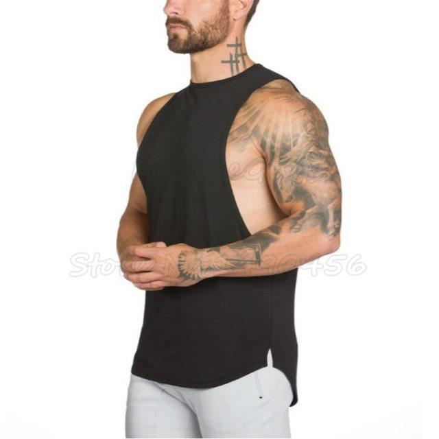 Men's Cotton Fitness Top