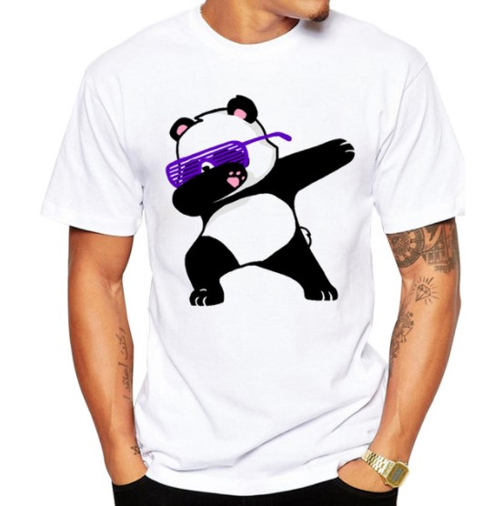 Men's Funny Animal Cotton T-Shirt