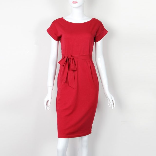 Women's Knee-Length Casual Dress
