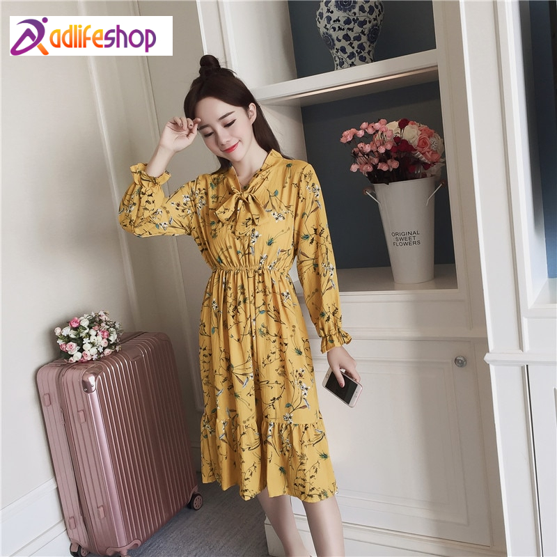 Women's A-Line Floral Printed Dresses