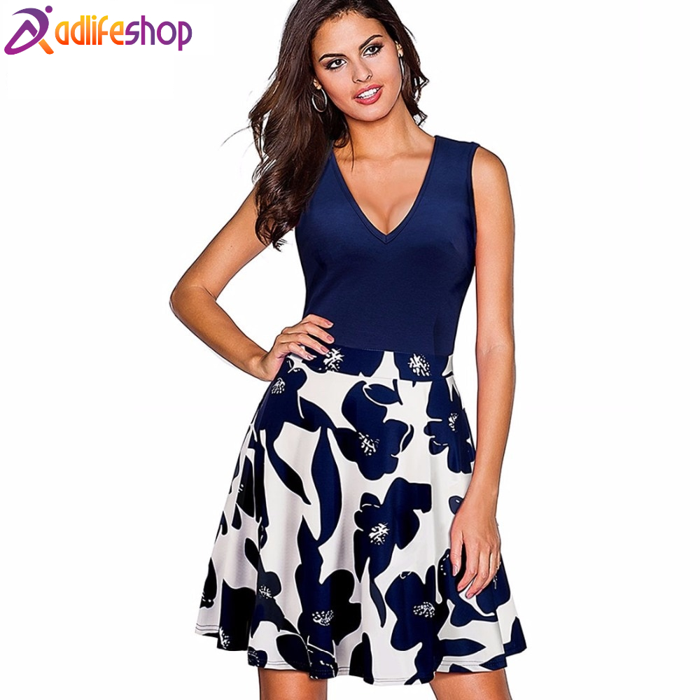 Nice Floral Printed women Dress for all events