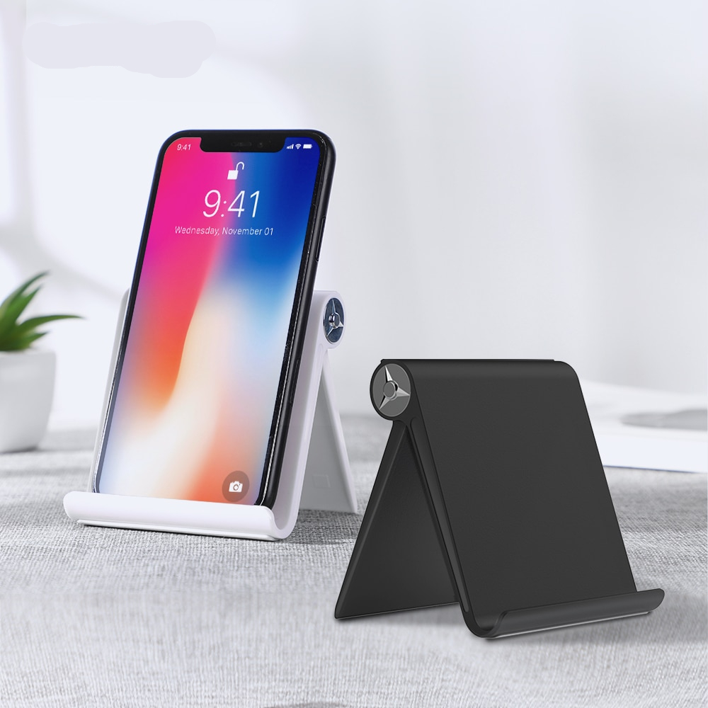 TOPK Phone Holder Stand For Samsung Galaxy S9 S8 S5 Foldable Mobile Phone Stand For Xiaomi Redmi Note 7 Tablet Stand