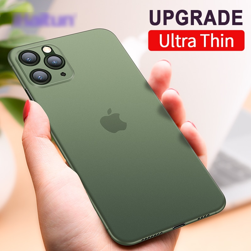 iHaitun Luxury Phone Case For iPhone 11 Pro Max Cases Ultra Thin Transparent Back Slim Cover For iPhone 11 XS MAX XR X 10 Full
