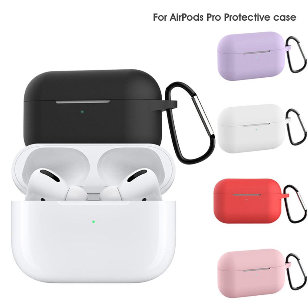 IKSNAIL Silicone Case For Airpods Pro Case Wireless Bluetooth For Apple Airpods Pro Case Cover Earphone Case For Air Pods pro 3