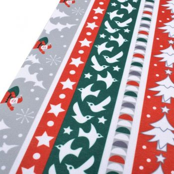 Chainho,6pcs/lot Christmas Series/,Printed NonWoven Soft Felt Fabric/Of Home Decoration/For Sewing Dolls Crafts 19x29cm
