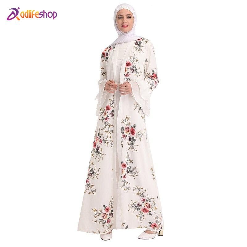 Chiffon Abaya Turkey Hijab Muslim Dress Kaftan Dubai Abayas For Women Qatar Ramadan Caftan Marocain Jilbab Robe Islamic Clothing
